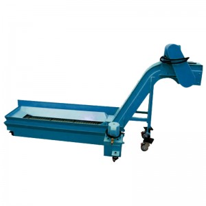 cnc hinge type metal swarf chip conveyor