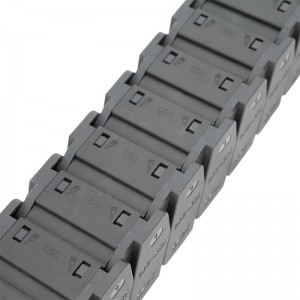 40*50 mm reinforced nylon high speed muted cable drag chain