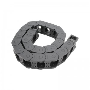 20*38 MTK series reinforced cnc enclosed type nylon drag chain