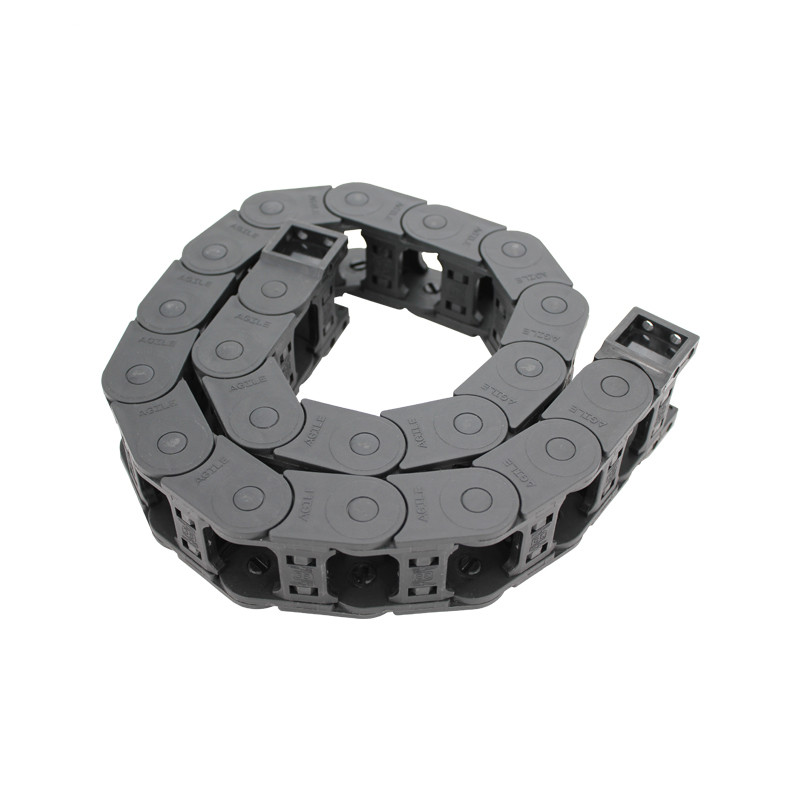 Factory Outlets Pa Corrugated Tube - 20×38 MTK series reinforced cnc enclosed type nylon drag chain – Anjie