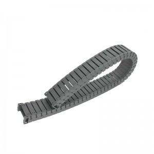 25*60 mm VSK semi enclosed nylon silenced drag chain
