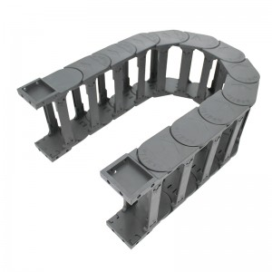 52*150 mm MT bridge type nylon plastic energy chain