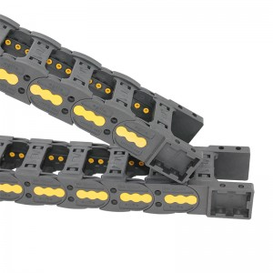 25*50 mm VMTK bridge type nylon plastic cable chain for cnc machine