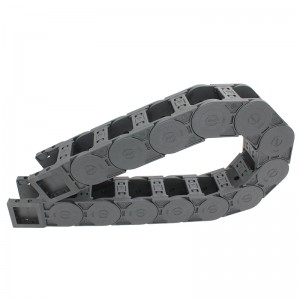 45*50 mm SK open type plastic drag chain for cnc