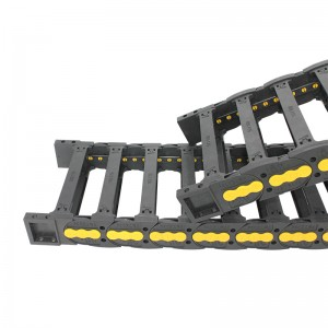 38*175 VMTK bridge type of nylon drag chain for textile machine