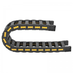 Factory Supply Silenced Cable Chain - 25*75 mm VMTK nylon electrical cable carrier for cnc – Anjie