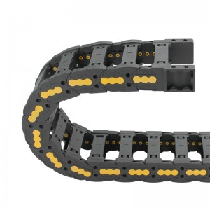 Factory Supply Silenced Cable Chain - 25*70 mm VMTK bridge type reinforced nylon energy chain for machine – Anjie
