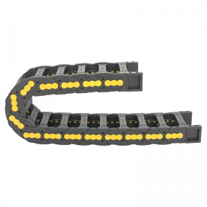 38*100 mm VMTK bridge type flexible energy chain for cnc machine