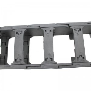 52*100 mm MT nylon bridge type of openable energy chain