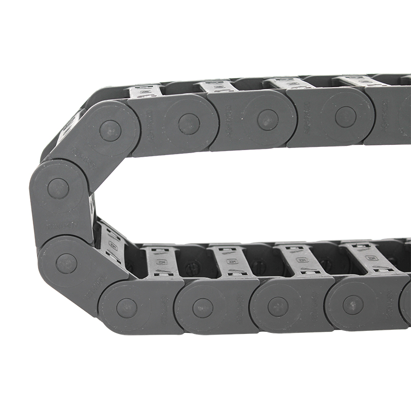 OEM China Anti-Fire Dust Cover - 20*75 mm MTK open type reinforced nylon drag chain – Anjie