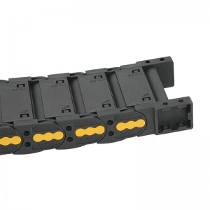 25*75 mm VMTK dust-free electrical enclosed drag chain