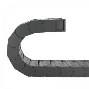 52*100 mm MT closed type reinforced nylon drag chain for CNC