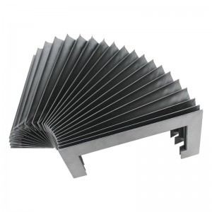elastic flexible anti-fire plastic machine accordion organ bellow cover