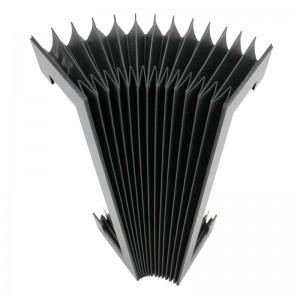 flexible elastic machine accordion organ bellow cover