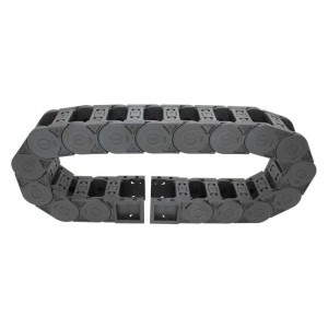35*50 SK bridge type both side opening high strength nylon tank chain