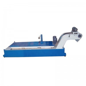 cnc machine used metal swarf chip conveyor