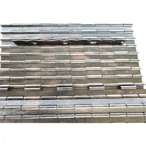 cnc hinge type metal swarf chip conveyor
